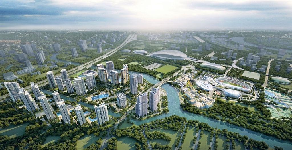 Phối cảnh dự án căn hộ Saigon Sports City Quận 2