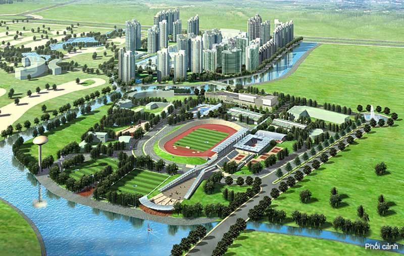 Phối cảnh dự án Saigon Sports City của chủ đầu tư Keppel Land
