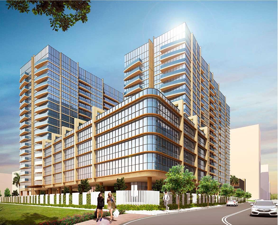 Phối cảnh căn hộ Thủ Thiêm River Park Quận 2