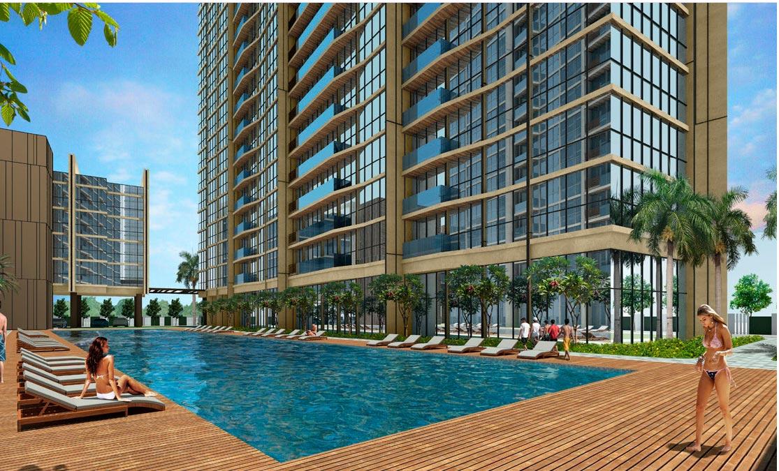 Phối cảnh tiện ích dự án Thủ Thiêm River Park