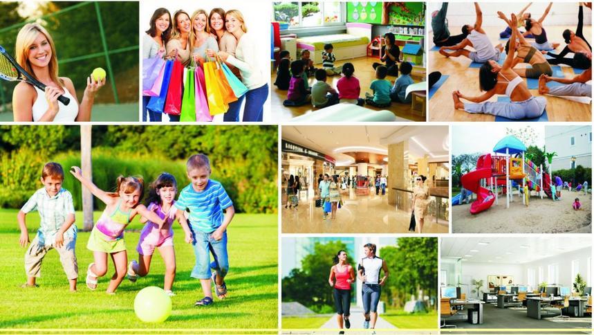 Tiện ích cao cấp khu căn hộ Saigon Sports City