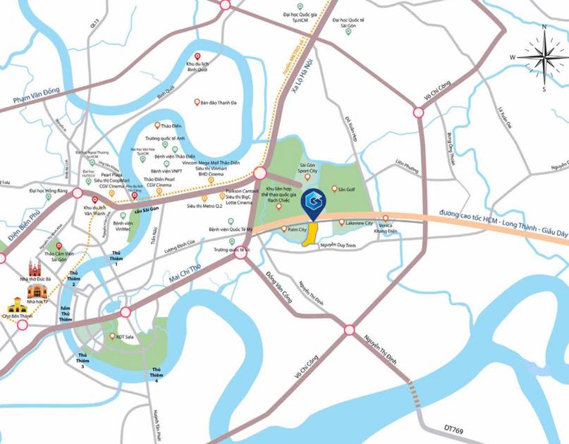vị trí gem riverside