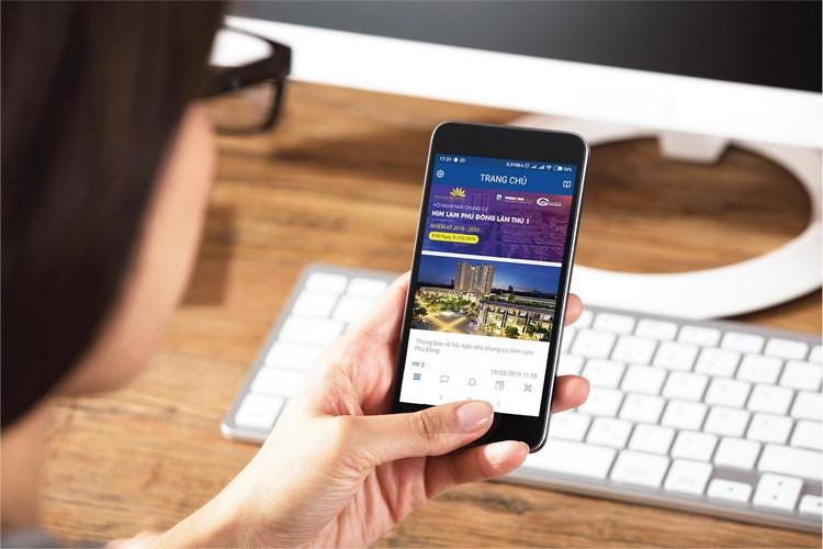 ứng dụng Phú Đông Group