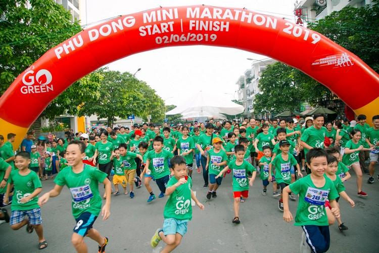 Phú Đông Group tổ chức hoạt động marathon