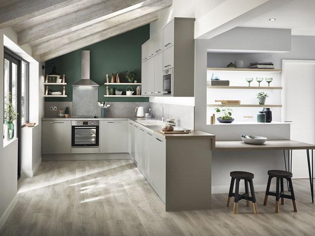 Lựa chọn màu sắc chủ đạo cho căn bếp chung cư